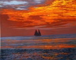 Sunset Sailing at Key West
