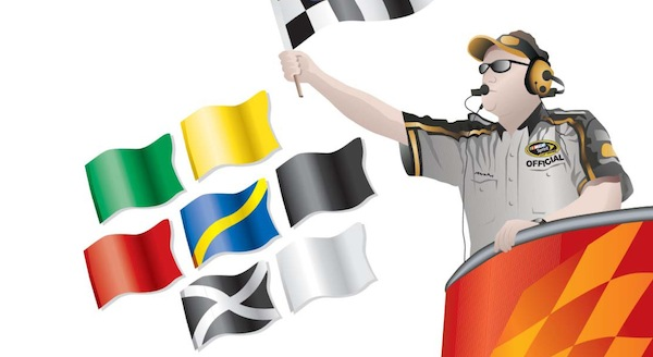 NASCAR racing flags | The Flag Press