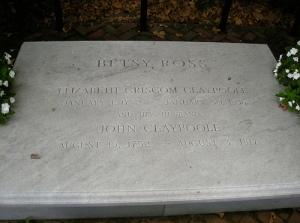 Betsy Ross Headstone